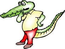 Crocodilo fotografia de stock