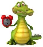 Crocodilo do divertimento Imagens de Stock