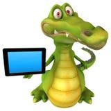 Crocodilo do divertimento ilustração do vetor