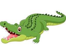 Crocodilo dos desenhos animados Imagem de Stock Royalty Free
