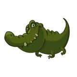 Crocodilo dos desenhos animados Fotografia de Stock