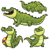 Crocodilo dos desenhos animados Imagens de Stock Royalty Free
