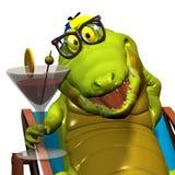 Crocodilo no. 11 Imagens de Stock