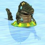 Crocodilo no. 6 Foto de Stock Royalty Free
