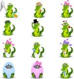 Crocodilo ou jacaré Fotografia de Stock