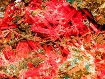 Crocoite Стоковые Фотографии RF
