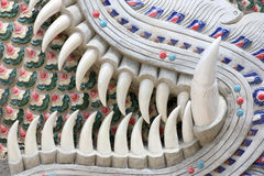 Crocs abstraits de dragon texturisés Image libre de droits