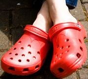 Crocs II - 20060520 - 002 Stock Image