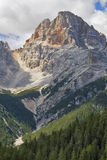 Croda Rossa, Dolomites. Stock Images