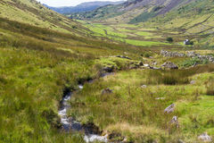 The Croesor Valley, looking West Royalty Free Stock Photo