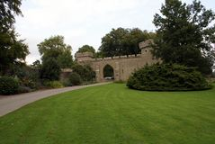 Croft Castle archway in England Royalty Free Stock Photography