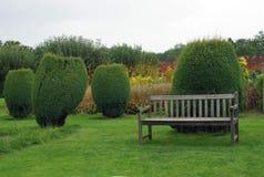 Croft Castle garden in England Stock Image