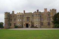 Croft kasteel, Yarpole, Herefordshire, Engeland stock foto