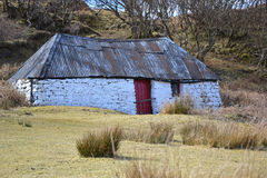Crofter cottage Royalty Free Stock Photography
