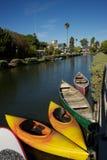 Crogioli di canale di Venezia, Los Angeles fotografie stock libere da diritti