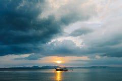 Crogiolo di coda lunga Krabi thailand 2016 fotografia stock