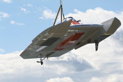 Crogiolo di Hydroplane Fotografie Stock