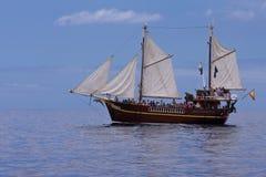 Crogiolo di vela Immagini Stock