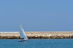 Crogiolo di vela Fotografie Stock