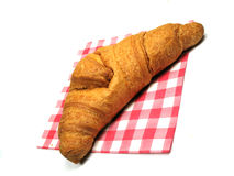 Croisant tilted Stock Photography