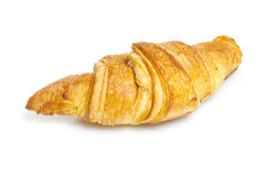 Croisant  on white bakground Royalty Free Stock Images
