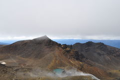Croisement alpestre de Tongariro Photo libre de droits
