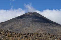 Croisement alpestre de Tongariro Photographie stock