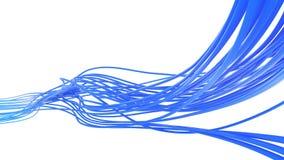 Croisement de câble Images stock