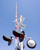 Croisement de chemin de fer Image stock