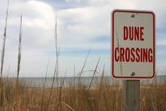 Croisement de dune Photographie stock libre de droits