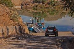 Croisement de ferry d'Octha photo libre de droits