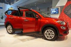 Croisement de Fiat 500X images libres de droits