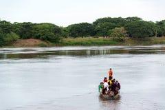 Croisement de Magdalena River Image libre de droits