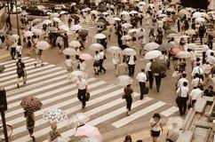 Croisement de Shibuya Images stock