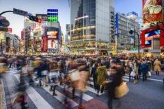 Croisement de Shibuya Photos stock