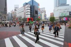Croisement de Shibuya Photographie stock