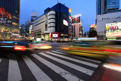 Croisement de Shibuya, Tokyo, Japon Photo libre de droits