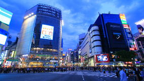Croisement de Shibuya, Tokyo, Japon Photo stock