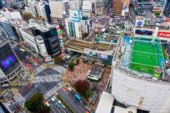 Croisement de Shibuya, Tokyo, Japon Photos stock