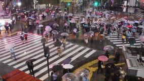 Croisement de Shibuya ? Tokyo banque de vidéos