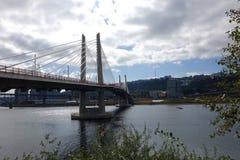 Croisement de Tilikum - Portland, Orégon Photos libres de droits
