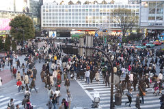Croisement de Tokyo Images libres de droits
