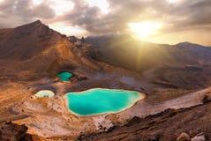Croisement de Tongariro photographie stock libre de droits