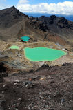 Croisement de Tongariro - Nouvelle Zélande Photos stock