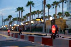 Croisement de train Photo libre de droits