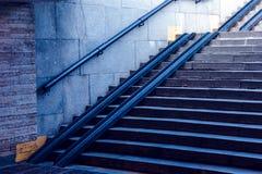 Croisement souterrain 2 photographie stock