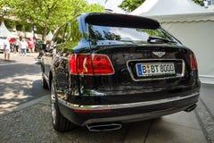 Croisement ultra de luxe SUV Bentley Bentayga, 2016 Image libre de droits