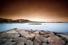 croisette de hdr Λα κηλίδα ηλίου Στοκ φωτογραφία με δικαίωμα ελεύθερης χρήσης