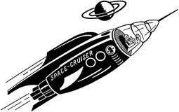 Croiseur de l'espace Images libres de droits