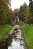 Croisez le pont. Tsarskoye Selo. Image libre de droits